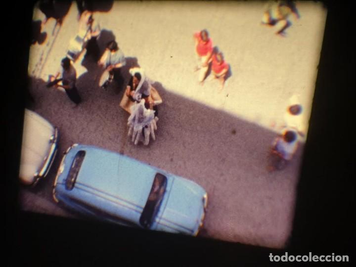 Cine: ANTIGUA BOBINA DE PELÍCULA-FILMACIONES AMATEUR-FOGUERES-SANT JOAN (1971) SUPER 8 MM, RETRO FILM - Foto 18 - 213359967