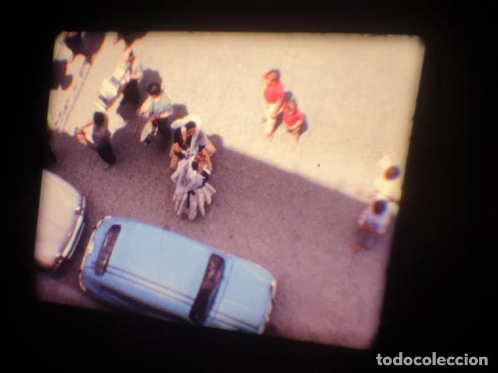 Cine: ANTIGUA BOBINA DE PELÍCULA-FILMACIONES AMATEUR-FOGUERES-SANT JOAN (1971) SUPER 8 MM, RETRO FILM - Foto 19 - 213359967