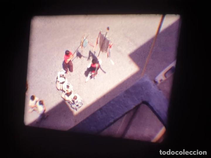 Cine: ANTIGUA BOBINA DE PELÍCULA-FILMACIONES AMATEUR-FOGUERES-SANT JOAN (1971) SUPER 8 MM, RETRO FILM - Foto 23 - 213359967