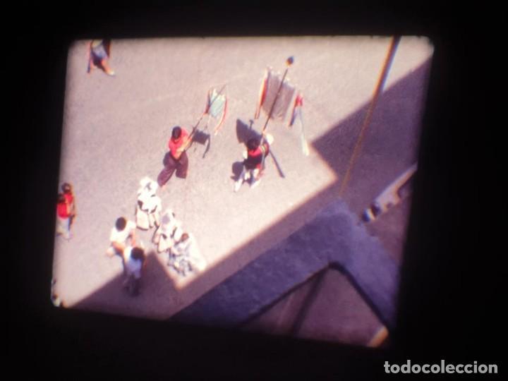 Cine: ANTIGUA BOBINA DE PELÍCULA-FILMACIONES AMATEUR-FOGUERES-SANT JOAN (1971) SUPER 8 MM, RETRO FILM - Foto 24 - 213359967
