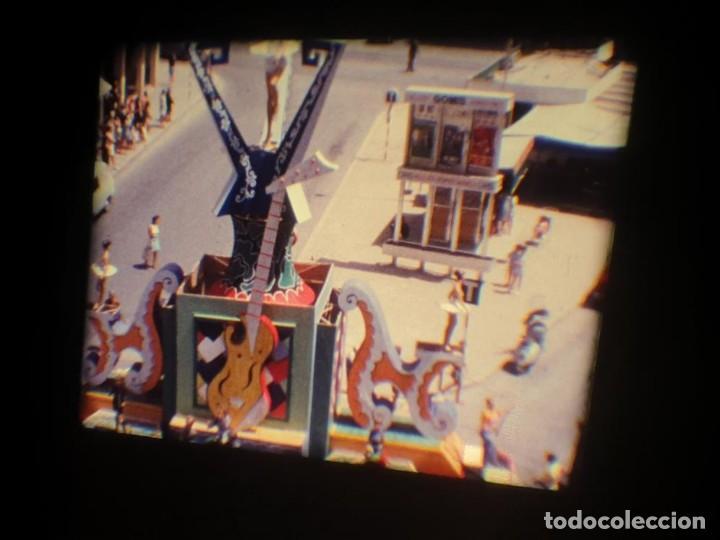 Cine: ANTIGUA BOBINA DE PELÍCULA-FILMACIONES AMATEUR-FOGUERES-SANT JOAN (1971) SUPER 8 MM, RETRO FILM - Foto 25 - 213359967