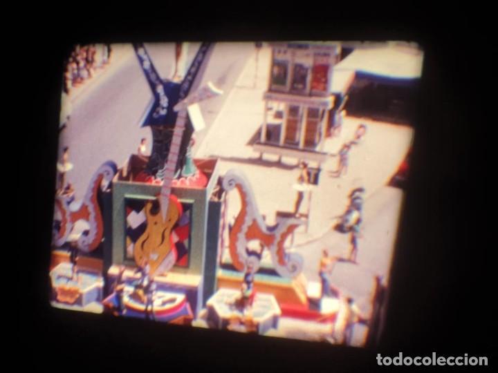 Cine: ANTIGUA BOBINA DE PELÍCULA-FILMACIONES AMATEUR-FOGUERES-SANT JOAN (1971) SUPER 8 MM, RETRO FILM - Foto 26 - 213359967