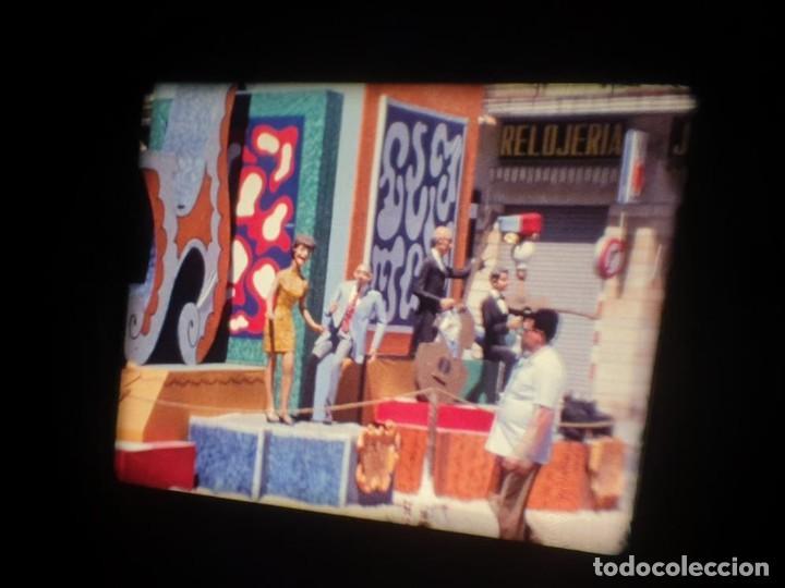 Cine: ANTIGUA BOBINA DE PELÍCULA-FILMACIONES AMATEUR-FOGUERES-SANT JOAN (1971) SUPER 8 MM, RETRO FILM - Foto 27 - 213359967
