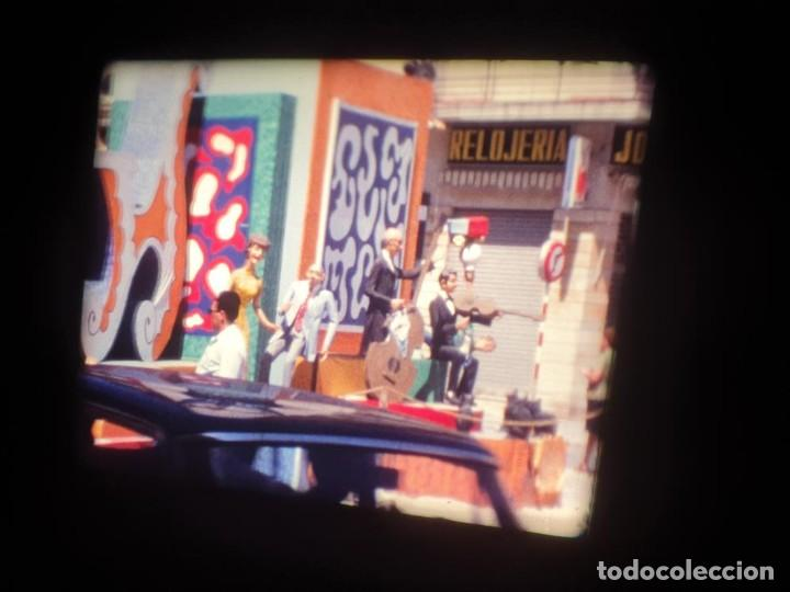 Cine: ANTIGUA BOBINA DE PELÍCULA-FILMACIONES AMATEUR-FOGUERES-SANT JOAN (1971) SUPER 8 MM, RETRO FILM - Foto 28 - 213359967
