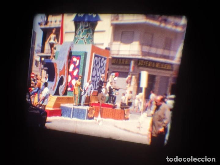 Cine: ANTIGUA BOBINA DE PELÍCULA-FILMACIONES AMATEUR-FOGUERES-SANT JOAN (1971) SUPER 8 MM, RETRO FILM - Foto 29 - 213359967