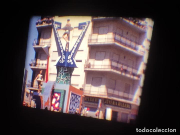 Cine: ANTIGUA BOBINA DE PELÍCULA-FILMACIONES AMATEUR-FOGUERES-SANT JOAN (1971) SUPER 8 MM, RETRO FILM - Foto 30 - 213359967