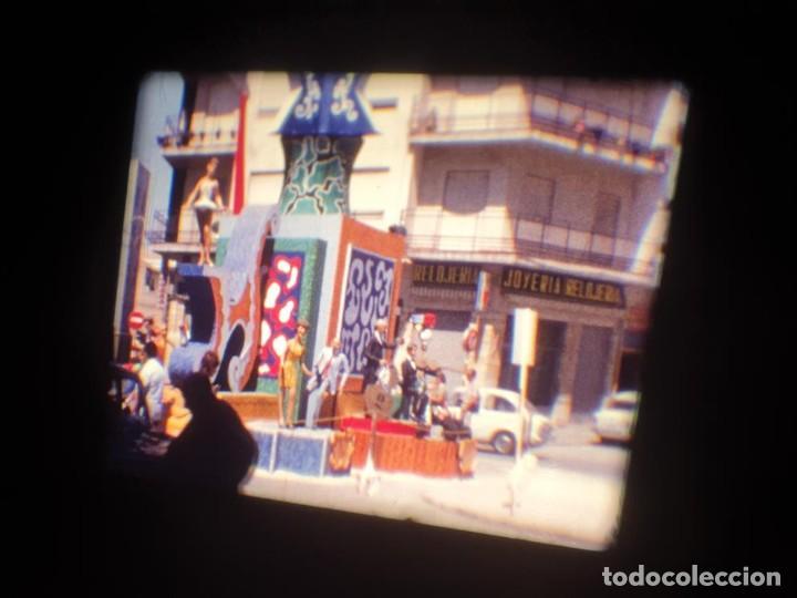 Cine: ANTIGUA BOBINA DE PELÍCULA-FILMACIONES AMATEUR-FOGUERES-SANT JOAN (1971) SUPER 8 MM, RETRO FILM - Foto 31 - 213359967