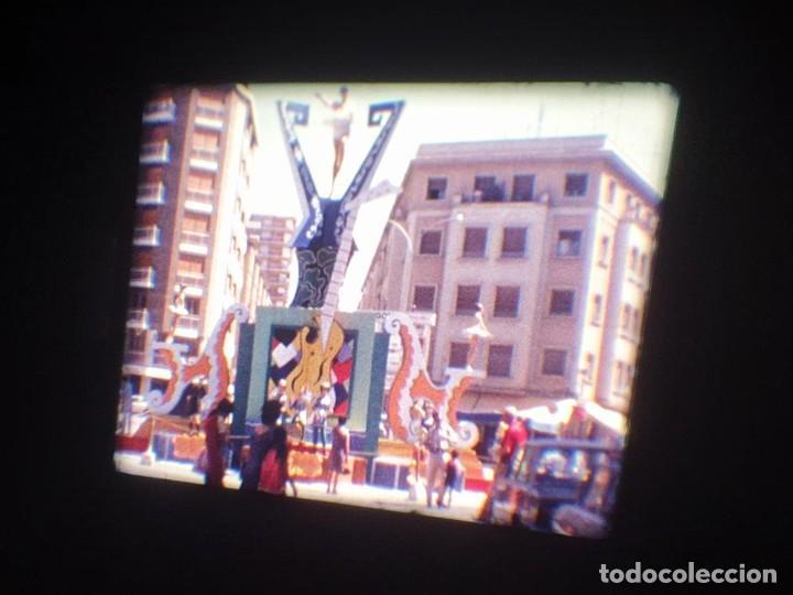 Cine: ANTIGUA BOBINA DE PELÍCULA-FILMACIONES AMATEUR-FOGUERES-SANT JOAN (1971) SUPER 8 MM, RETRO FILM - Foto 32 - 213359967