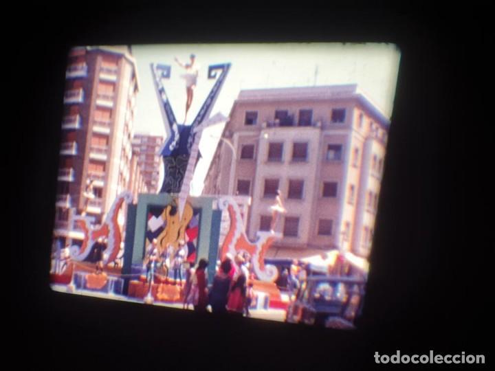 Cine: ANTIGUA BOBINA DE PELÍCULA-FILMACIONES AMATEUR-FOGUERES-SANT JOAN (1971) SUPER 8 MM, RETRO FILM - Foto 33 - 213359967