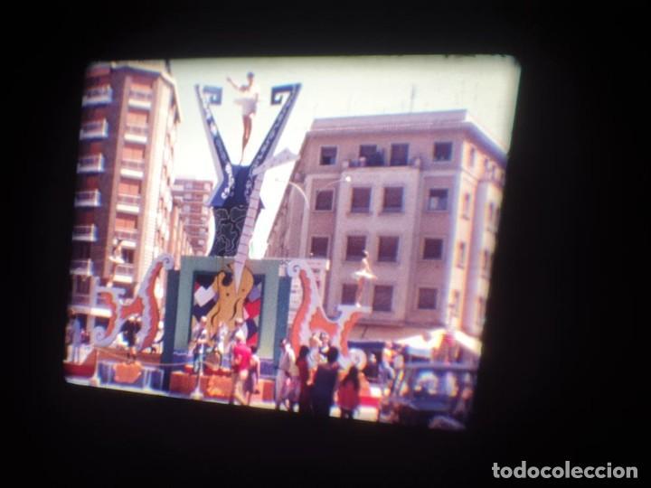 Cine: ANTIGUA BOBINA DE PELÍCULA-FILMACIONES AMATEUR-FOGUERES-SANT JOAN (1971) SUPER 8 MM, RETRO FILM - Foto 34 - 213359967