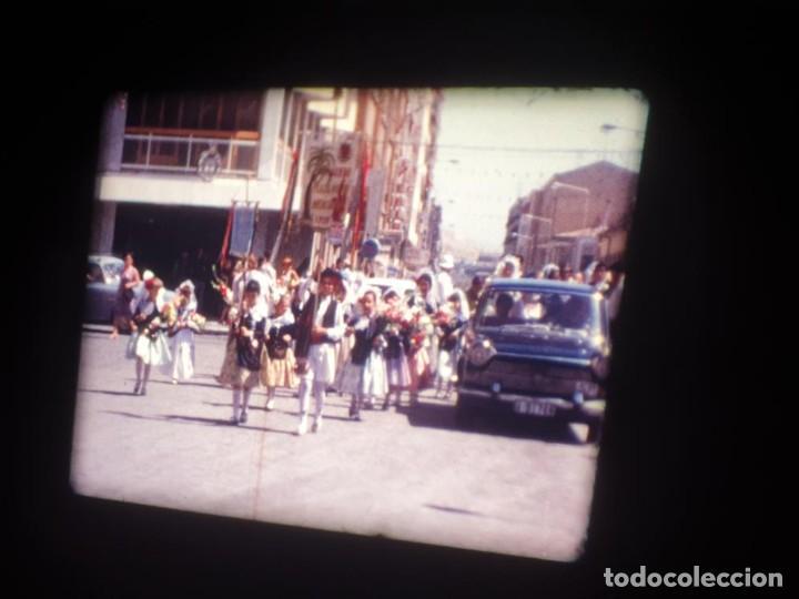 Cine: ANTIGUA BOBINA DE PELÍCULA-FILMACIONES AMATEUR-FOGUERES-SANT JOAN (1971) SUPER 8 MM, RETRO FILM - Foto 36 - 213359967