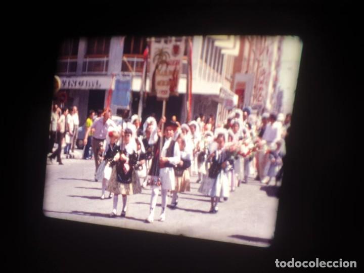 Cine: ANTIGUA BOBINA DE PELÍCULA-FILMACIONES AMATEUR-FOGUERES-SANT JOAN (1971) SUPER 8 MM, RETRO FILM - Foto 37 - 213359967