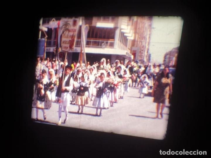 Cine: ANTIGUA BOBINA DE PELÍCULA-FILMACIONES AMATEUR-FOGUERES-SANT JOAN (1971) SUPER 8 MM, RETRO FILM - Foto 38 - 213359967