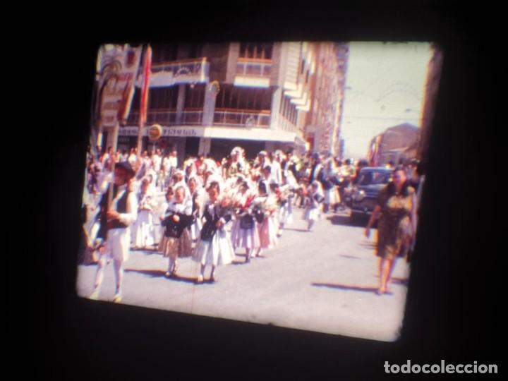 Cine: ANTIGUA BOBINA DE PELÍCULA-FILMACIONES AMATEUR-FOGUERES-SANT JOAN (1971) SUPER 8 MM, RETRO FILM - Foto 39 - 213359967