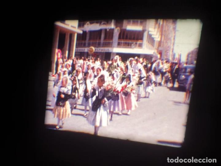 Cine: ANTIGUA BOBINA DE PELÍCULA-FILMACIONES AMATEUR-FOGUERES-SANT JOAN (1971) SUPER 8 MM, RETRO FILM - Foto 40 - 213359967