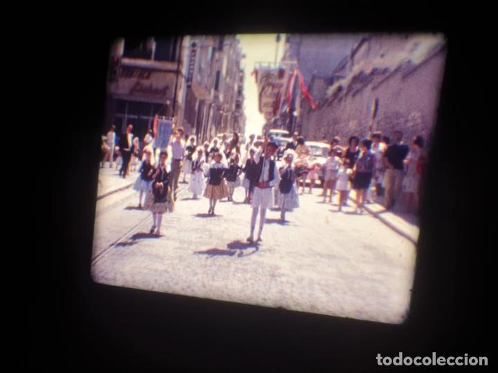 Cine: ANTIGUA BOBINA DE PELÍCULA-FILMACIONES AMATEUR-FOGUERES-SANT JOAN (1971) SUPER 8 MM, RETRO FILM - Foto 41 - 213359967
