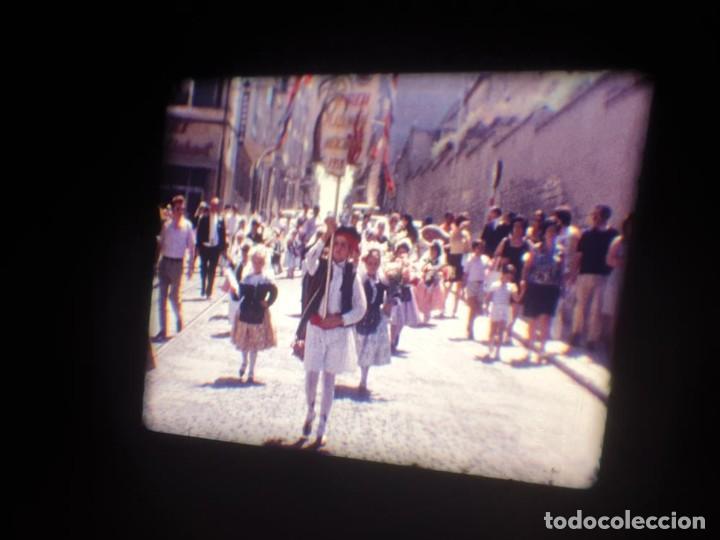 Cine: ANTIGUA BOBINA DE PELÍCULA-FILMACIONES AMATEUR-FOGUERES-SANT JOAN (1971) SUPER 8 MM, RETRO FILM - Foto 42 - 213359967