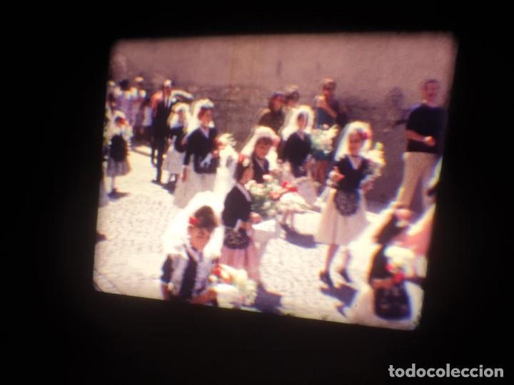 Cine: ANTIGUA BOBINA DE PELÍCULA-FILMACIONES AMATEUR-FOGUERES-SANT JOAN (1971) SUPER 8 MM, RETRO FILM - Foto 43 - 213359967