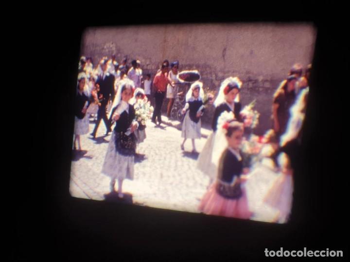 Cine: ANTIGUA BOBINA DE PELÍCULA-FILMACIONES AMATEUR-FOGUERES-SANT JOAN (1971) SUPER 8 MM, RETRO FILM - Foto 44 - 213359967