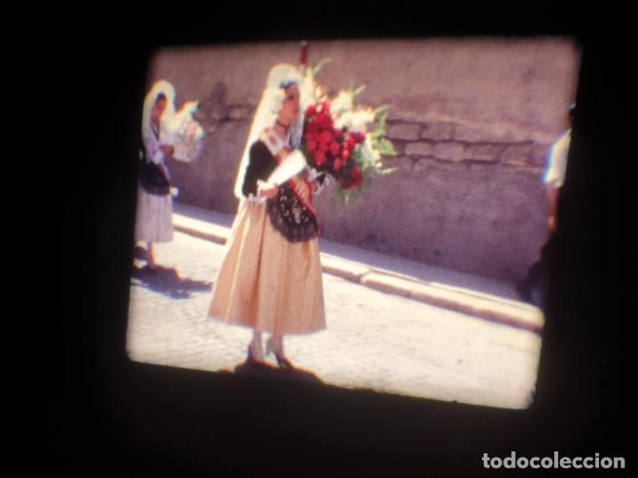 Cine: ANTIGUA BOBINA DE PELÍCULA-FILMACIONES AMATEUR-FOGUERES-SANT JOAN (1971) SUPER 8 MM, RETRO FILM - Foto 45 - 213359967
