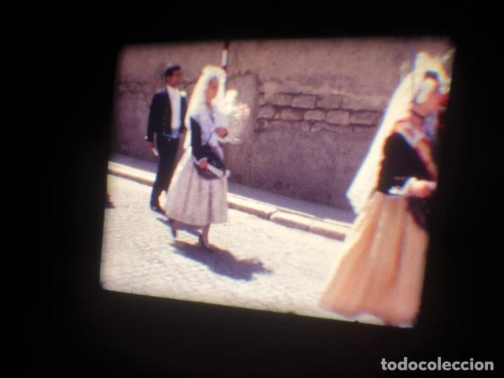 Cine: ANTIGUA BOBINA DE PELÍCULA-FILMACIONES AMATEUR-FOGUERES-SANT JOAN (1971) SUPER 8 MM, RETRO FILM - Foto 46 - 213359967