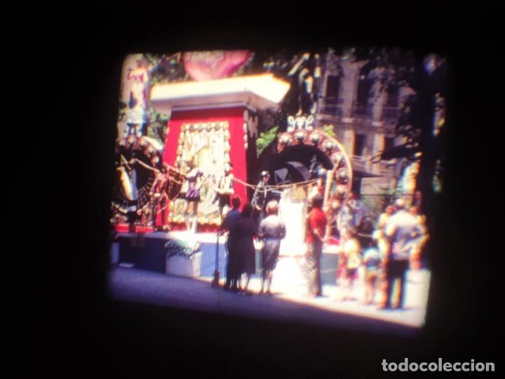 Cine: ANTIGUA BOBINA DE PELÍCULA-FILMACIONES AMATEUR-FOGUERES-SANT JOAN (1971) SUPER 8 MM, RETRO FILM - Foto 47 - 213359967