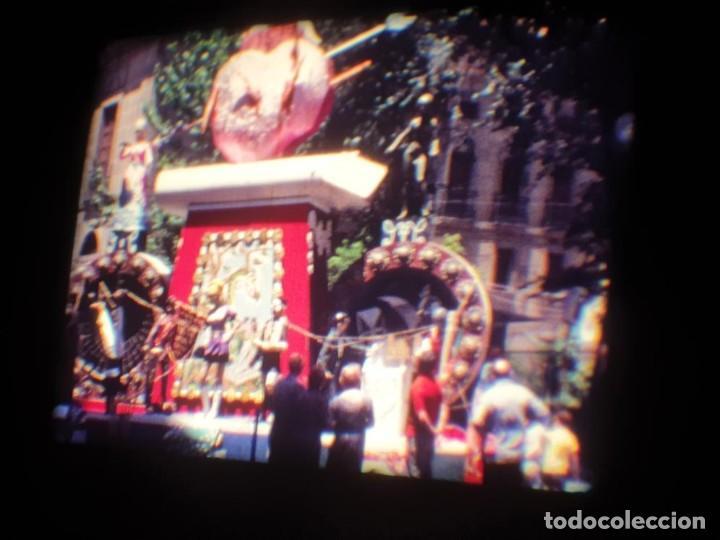 Cine: ANTIGUA BOBINA DE PELÍCULA-FILMACIONES AMATEUR-FOGUERES-SANT JOAN (1971) SUPER 8 MM, RETRO FILM - Foto 48 - 213359967