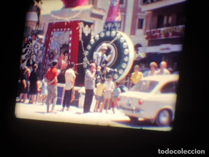 Cine: ANTIGUA BOBINA DE PELÍCULA-FILMACIONES AMATEUR-FOGUERES-SANT JOAN (1971) SUPER 8 MM, RETRO FILM - Foto 51 - 213359967