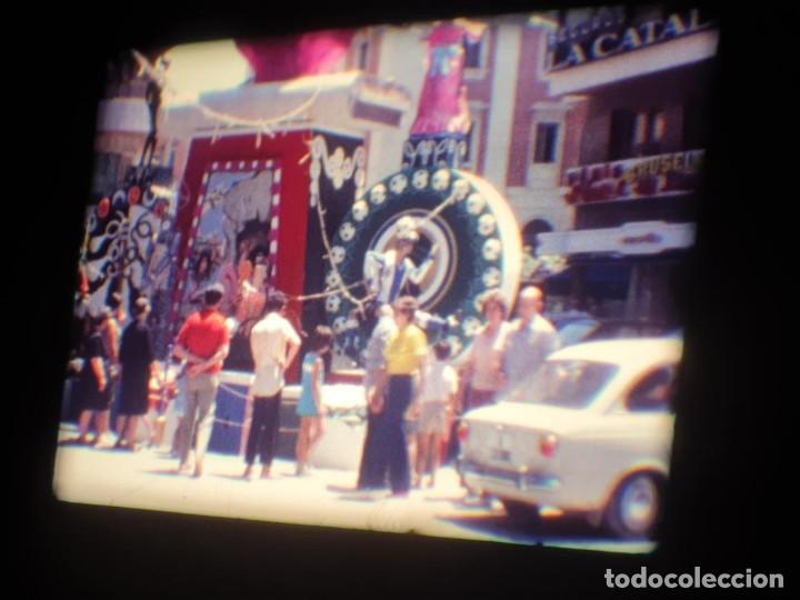 Cine: ANTIGUA BOBINA DE PELÍCULA-FILMACIONES AMATEUR-FOGUERES-SANT JOAN (1971) SUPER 8 MM, RETRO FILM - Foto 52 - 213359967