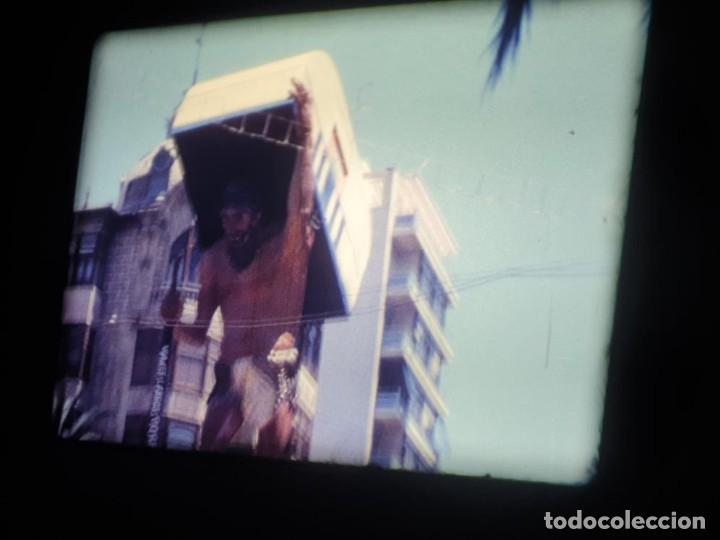 Cine: ANTIGUA BOBINA DE PELÍCULA-FILMACIONES AMATEUR-FOGUERES-SANT JOAN (1971) SUPER 8 MM, RETRO FILM - Foto 53 - 213359967