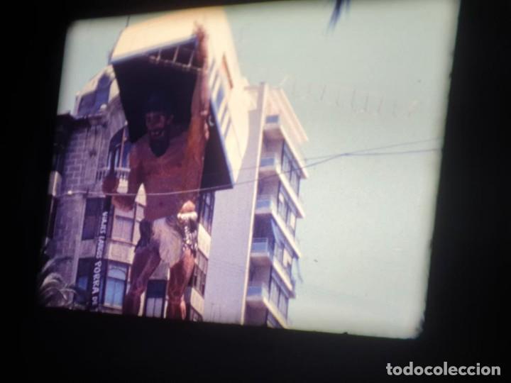 Cine: ANTIGUA BOBINA DE PELÍCULA-FILMACIONES AMATEUR-FOGUERES-SANT JOAN (1971) SUPER 8 MM, RETRO FILM - Foto 54 - 213359967