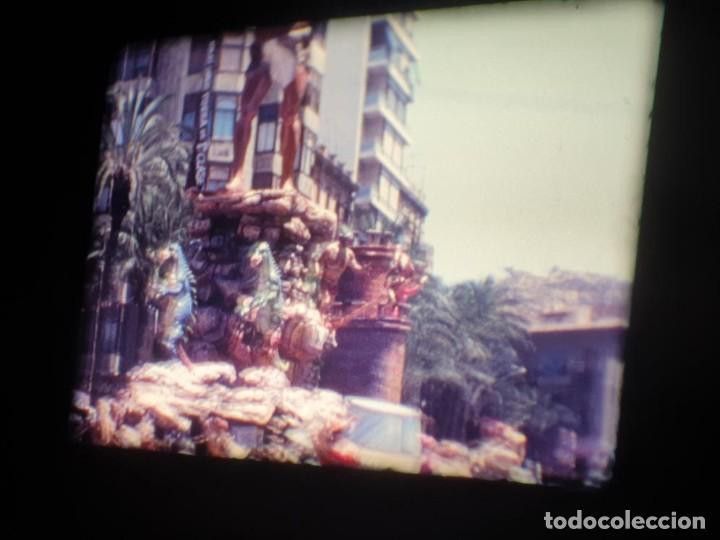 Cine: ANTIGUA BOBINA DE PELÍCULA-FILMACIONES AMATEUR-FOGUERES-SANT JOAN (1971) SUPER 8 MM, RETRO FILM - Foto 55 - 213359967