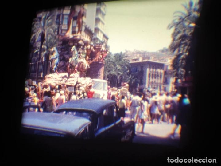 Cine: ANTIGUA BOBINA DE PELÍCULA-FILMACIONES AMATEUR-FOGUERES-SANT JOAN (1971) SUPER 8 MM, RETRO FILM - Foto 56 - 213359967