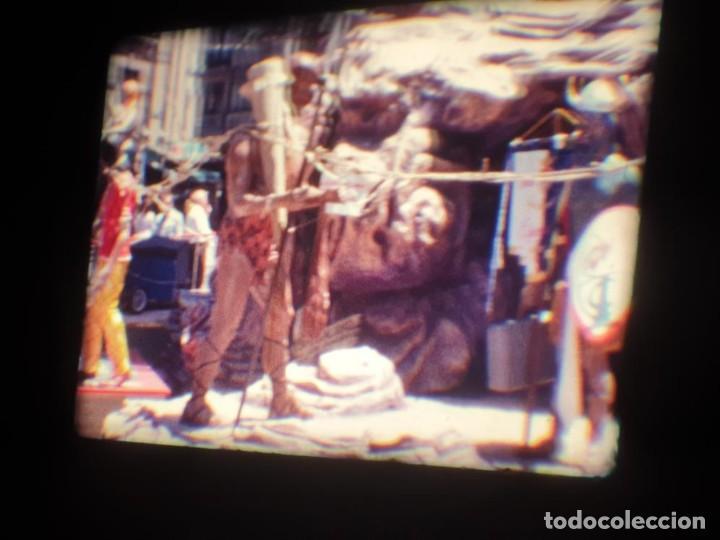 Cine: ANTIGUA BOBINA DE PELÍCULA-FILMACIONES AMATEUR-FOGUERES-SANT JOAN (1971) SUPER 8 MM, RETRO FILM - Foto 57 - 213359967