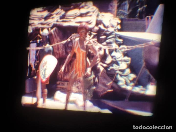 Cine: ANTIGUA BOBINA DE PELÍCULA-FILMACIONES AMATEUR-FOGUERES-SANT JOAN (1971) SUPER 8 MM, RETRO FILM - Foto 58 - 213359967