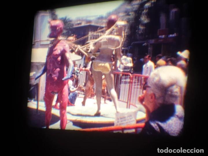 Cine: ANTIGUA BOBINA DE PELÍCULA-FILMACIONES AMATEUR-FOGUERES-SANT JOAN (1971) SUPER 8 MM, RETRO FILM - Foto 60 - 213359967