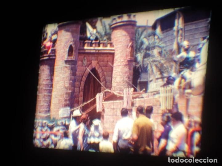 Cine: ANTIGUA BOBINA DE PELÍCULA-FILMACIONES AMATEUR-FOGUERES-SANT JOAN (1971) SUPER 8 MM, RETRO FILM - Foto 63 - 213359967