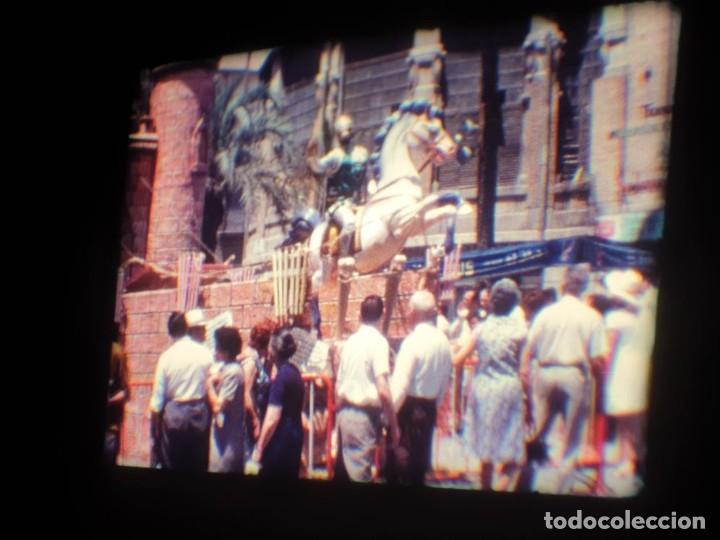 Cine: ANTIGUA BOBINA DE PELÍCULA-FILMACIONES AMATEUR-FOGUERES-SANT JOAN (1971) SUPER 8 MM, RETRO FILM - Foto 64 - 213359967