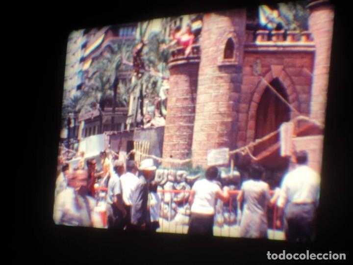 Cine: ANTIGUA BOBINA DE PELÍCULA-FILMACIONES AMATEUR-FOGUERES-SANT JOAN (1971) SUPER 8 MM, RETRO FILM - Foto 65 - 213359967