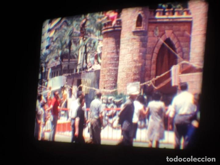 Cine: ANTIGUA BOBINA DE PELÍCULA-FILMACIONES AMATEUR-FOGUERES-SANT JOAN (1971) SUPER 8 MM, RETRO FILM - Foto 66 - 213359967