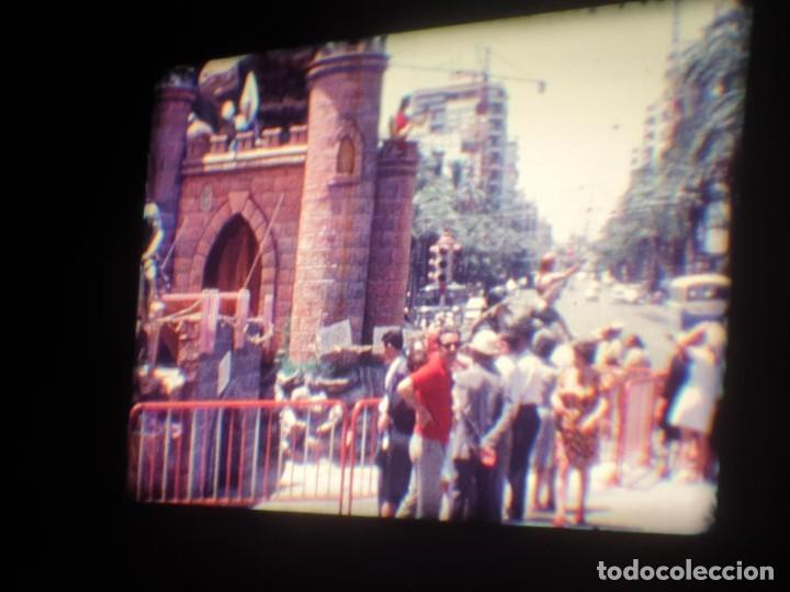 Cine: ANTIGUA BOBINA DE PELÍCULA-FILMACIONES AMATEUR-FOGUERES-SANT JOAN (1971) SUPER 8 MM, RETRO FILM - Foto 67 - 213359967
