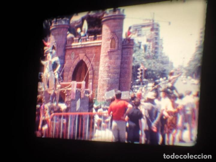 Cine: ANTIGUA BOBINA DE PELÍCULA-FILMACIONES AMATEUR-FOGUERES-SANT JOAN (1971) SUPER 8 MM, RETRO FILM - Foto 68 - 213359967