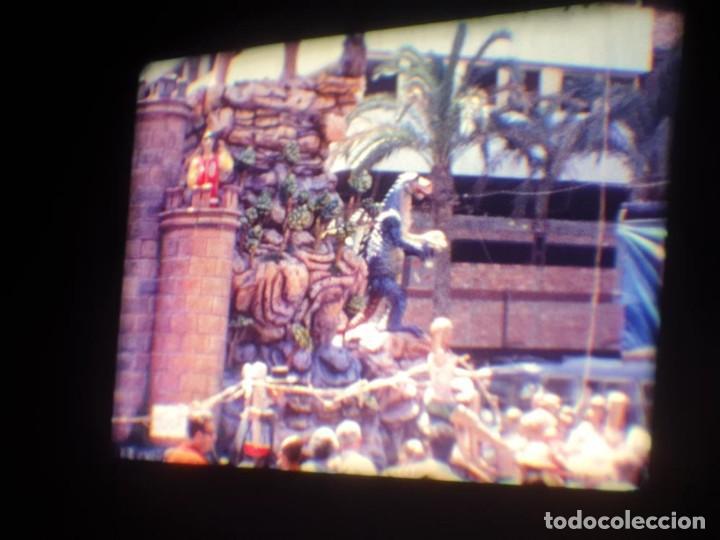 Cine: ANTIGUA BOBINA DE PELÍCULA-FILMACIONES AMATEUR-FOGUERES-SANT JOAN (1971) SUPER 8 MM, RETRO FILM - Foto 70 - 213359967