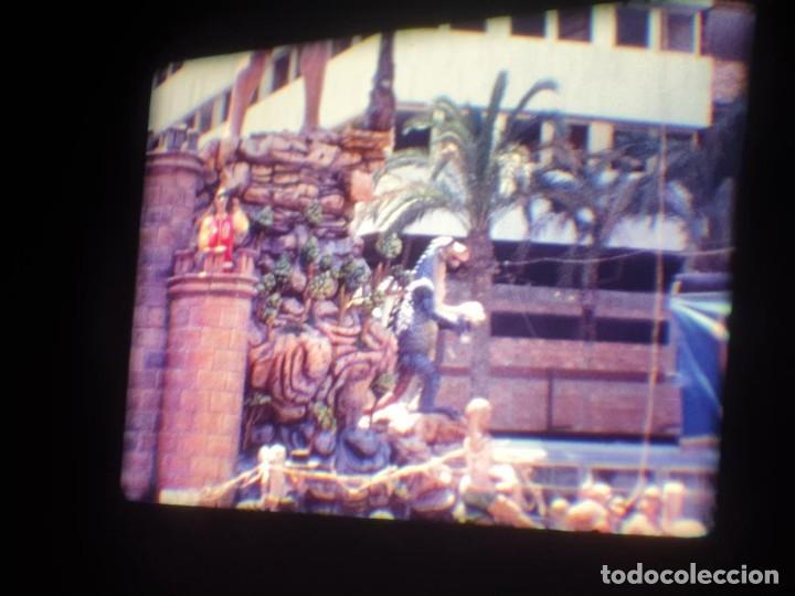 Cine: ANTIGUA BOBINA DE PELÍCULA-FILMACIONES AMATEUR-FOGUERES-SANT JOAN (1971) SUPER 8 MM, RETRO FILM - Foto 71 - 213359967