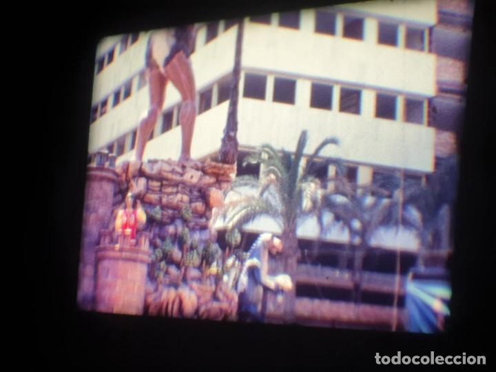 Cine: ANTIGUA BOBINA DE PELÍCULA-FILMACIONES AMATEUR-FOGUERES-SANT JOAN (1971) SUPER 8 MM, RETRO FILM - Foto 72 - 213359967