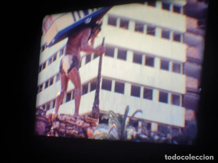 Cine: ANTIGUA BOBINA DE PELÍCULA-FILMACIONES AMATEUR-FOGUERES-SANT JOAN (1971) SUPER 8 MM, RETRO FILM - Foto 73 - 213359967