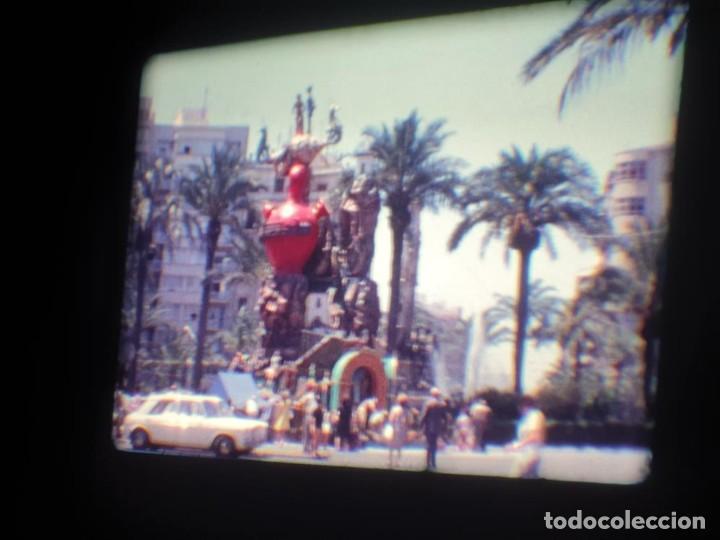 Cine: ANTIGUA BOBINA DE PELÍCULA-FILMACIONES AMATEUR-FOGUERES-SANT JOAN (1971) SUPER 8 MM, RETRO FILM - Foto 74 - 213359967
