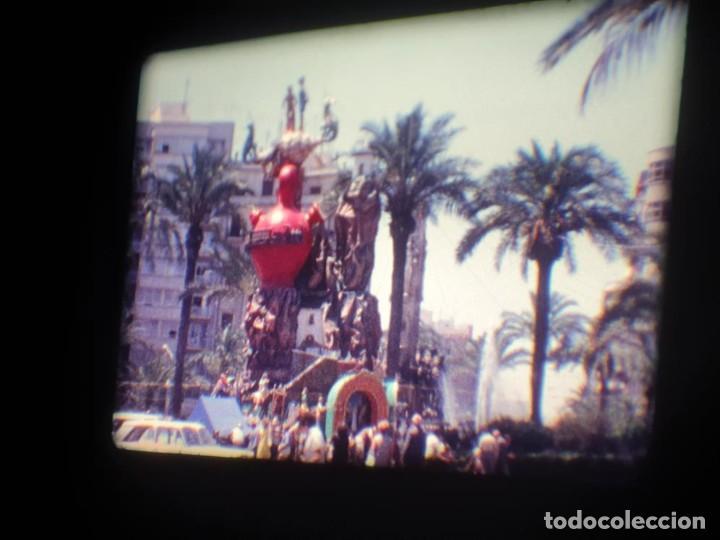 Cine: ANTIGUA BOBINA DE PELÍCULA-FILMACIONES AMATEUR-FOGUERES-SANT JOAN (1971) SUPER 8 MM, RETRO FILM - Foto 75 - 213359967