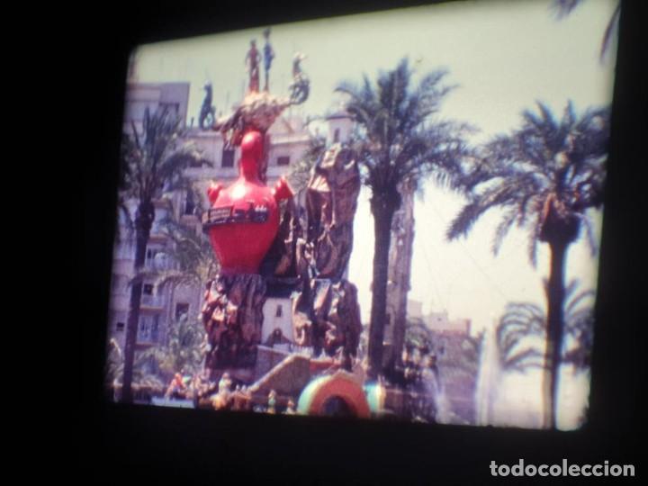 Cine: ANTIGUA BOBINA DE PELÍCULA-FILMACIONES AMATEUR-FOGUERES-SANT JOAN (1971) SUPER 8 MM, RETRO FILM - Foto 76 - 213359967