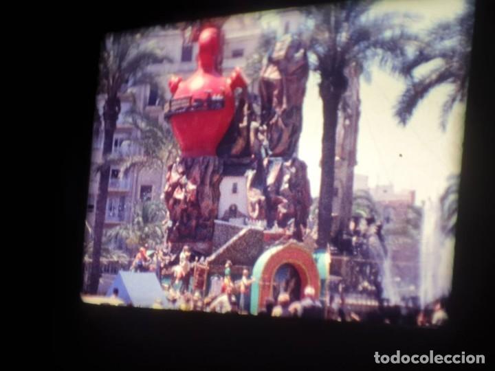 Cine: ANTIGUA BOBINA DE PELÍCULA-FILMACIONES AMATEUR-FOGUERES-SANT JOAN (1971) SUPER 8 MM, RETRO FILM - Foto 77 - 213359967